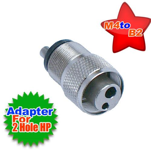 Dental High Speed Handpiece Tubing Adapter M4 to B2