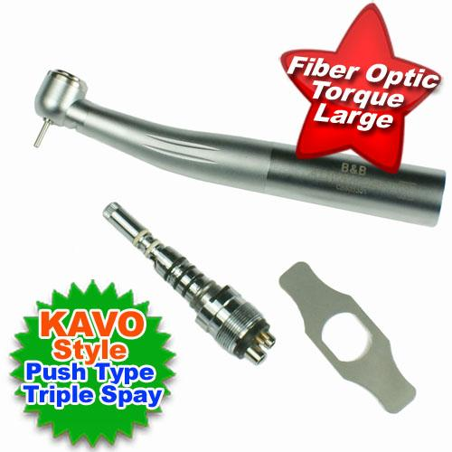 Dental KAVO Style Quick Coupler Swivel Fiber Optic Handpiece