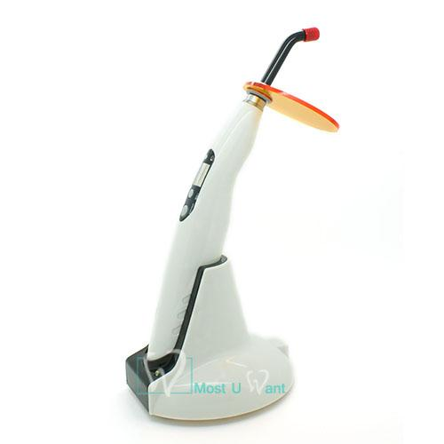 Dental Wireless Cordless LED B Curing Light Lamp Digital Display Strong Light