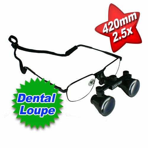 Dental Surgical Medical Loupe 2.5x 420mm