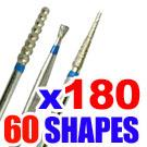 Dental Diamond FG burs 1.6mm burs