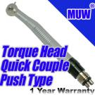 Dental Handpiece Push Button Torque Head Quick Couple