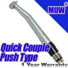 Dental High Speed Handpiece Push Button Quick Couple