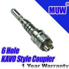 Dental KAVO Style Quick Coupler Swivel 6 Hole