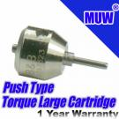 MUW® Dental High Speed Handpiece Torque Head Large Turbine Cartridge Push Button