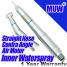 Dental Inner Water Spray Straight Nose Contra Angle 4 Hole Air Motor KAVO Style Head